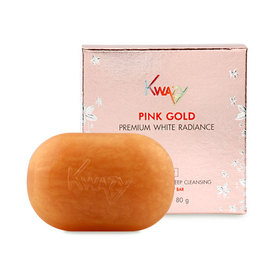 Kwazy Pink Gold Premium White Radiance Soap White Radiance & Deep Cleansing 80g