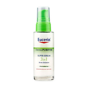 Eucerin Dermo Purifyer Super Serum 3in1 Acne Solution 30ml (No Box)