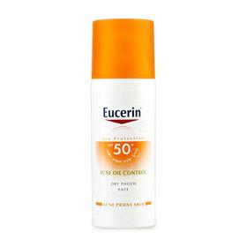 Eucerin Sun Dry Touch Acne Oil Control SPF50+ PA+++ 50ml (No Box)