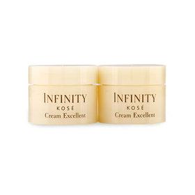 แพ็คคู่ Kose Infinity Cream Excellent (5.9mlx2pcs)