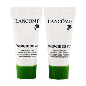 แพ็คคู่ Lancome Energie De Vie Water-Infused Cream (5mlx2pcs)