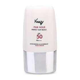Kwazy Pink Gold Perfect Sunscreen Moisturizing & Waterproof SPF50/PA+++ 30g