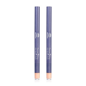 ซื้อ 1 แถม 1 Mee Draw 2 Dip Auto Eyebrow Pencil #03 Light Brown
