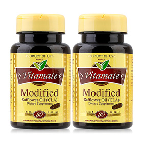 ซื้อ 1 แถม 1 Vitamate Modified Safflower Oil (CLA) (30 Softgels)