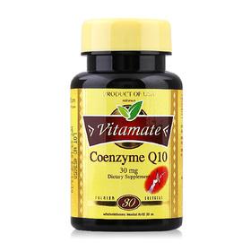 Vitamate Coenzyme Q10 30mg (30 Softgels)