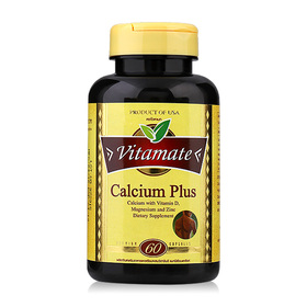 Vitamate Calcium Plus (60 Caplets)