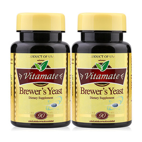 ซื้อ 1 แถม 1 Brewer's Yeast 500 mg (90 Softgelsx2)