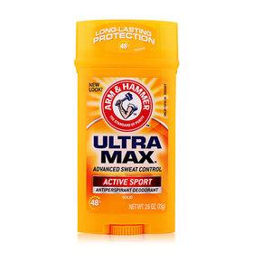 Arm & Hammer Ultra Max Advanced Sweat Control Active Sport Antiperspirant Deodorant 73g