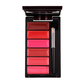 Oriental Princess Beneficial Glamourama Lip Palette 6g #01 Pink Of Perfect