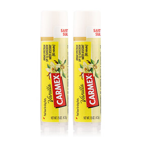 แพ็คคู่ Carmex Ultra Smooth Lip Blam Sunscreen (4.25g x 2) #Vanilla