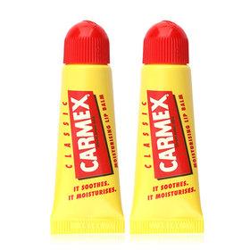 แพ็คคู่ Carmex Moisturising Lip Balm 10g #Classic