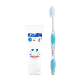 Sparkle Extra White Hap 60g (Free! Perfect White Toothbrush 1 pcs)