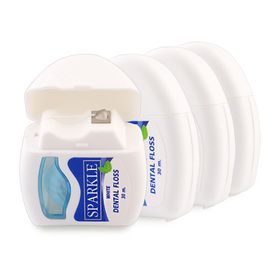 Sparkle White Dental Floss Set 4pcs