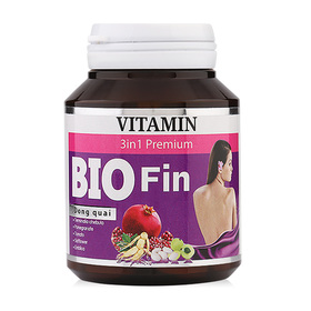 Bio Fin Vitamin 3 in1 Premium 30 Caps