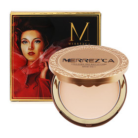 Merrez'ca Collagen UV Two-way Cake #21 Light Nude