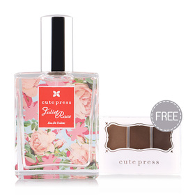 Cute Press Juliet Rose EDT 60ml (Free Color Fantasy Eyebrow Powder 1.5g 1pcs)