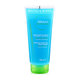 Bioderma Sebium Gel Moussant Purifying Cleansing Foaming Gel 200ml