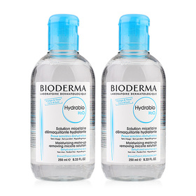 แพ็คคู่ Bioderma Hydrabio H2O Moisturising Make-up Removing Micelle Solution (250mlx2)