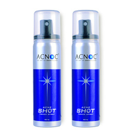 ซื้อ1 เเถม 1 Acnoc Acne Shot Toner Spray (50ml x 2)