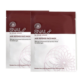 แพ็คคู่ Snail8 Age Defense Face Mask (23g x 2)