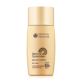Oriental Princess Natural Sunscreen Brilliant UV Shield For Face SPF 50/PA+++ 50ml