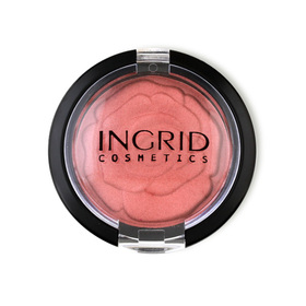 Ingrid Cosmetic Satin Touch HD Beauty Blush Powder 3.5g #12
