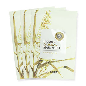 The Saem Natural Oatmeal Mask Sheet 3pcs