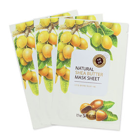 The Saem Natural Shea Butter Mask (1pcs x 3)