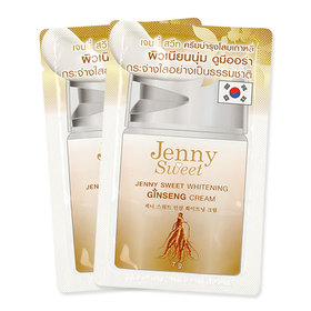 Jenny Sweet Whitening Ginseng Cream (7g x 3)(สินค้านี้ไม่ร่วมรายการซื้อ 2 ชิ้นฟรีค่าจัดส่ง)