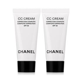 แพ็คคู่ Chanel Complete Correction CC Cream SPF50 #20 Beige (5mlx2pcs)
