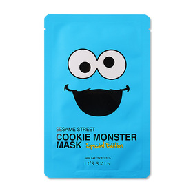 It's Skin Sesame Street Cookie Monster Mask Sheet Special Edition 20ml