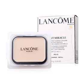 Lancome Teint Miracle Compact Powder Foundation Bare Skin Perfection Natural Light Creator SPF20/PA+++ (Refill) 10g #PO-01