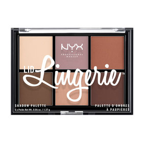 NYX Professional Makeup Lid Lingerie Shadow Palette # LLSP01