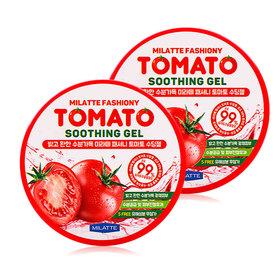 แพ็คคู่ Milatte Fashiony Tomato Soothing Gel (300mlx2)