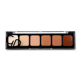 Golden Rose Correct & Conceal Concealer Cream Palette #02 Medium To Dark