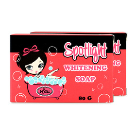 แพ็คคู่ I-Doll Spotlight Whitening Soap (80g x 2)