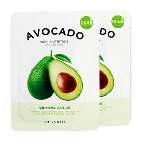 แพ็คคู่ It's Skin The Fresh Mask Sheet Avocado 2pcs