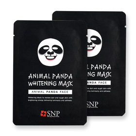 แพ็คคู่ SNP Animal Panda Whitening Mask 2pcs