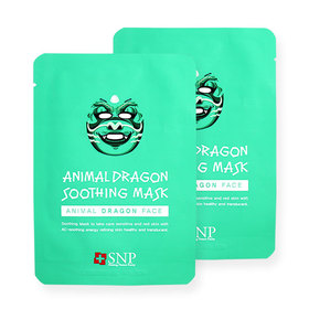 แพ็คคู่ SNP Animal Dragon Soothing Mask 2pcs