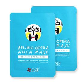 แพ็คคู่ SNP Beijing Opera Aqua Mask 2pcs