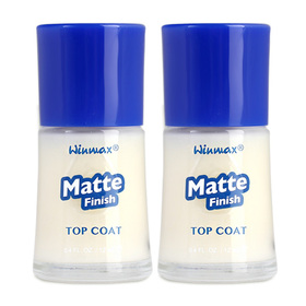 แพ็คคู่ Daiso Winmax Matte Finish Top Coat (12ml x 2)