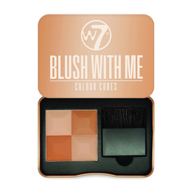 W7 Blush With Me Colour Cubes 8.5g #Cassie Mac