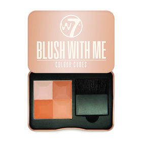 W7 Blush With Me Colour Cubes 8.5g #Honeymoon