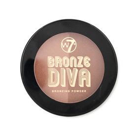 W7 Bronze Divas Bronzing Powder 10g #Bronzed