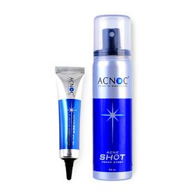 Acnoc Set 2 Items (Acneser Spot Gel 15g + Acne Shot Toner Spray 50ml)