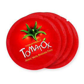 Tonymoly Tomatox Magic White Massage Pack (3.5g x 4)