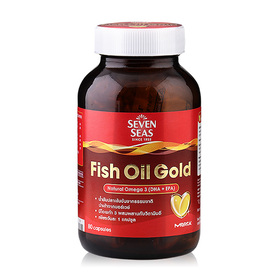 Seven Seas Fish Oil Gold 80 Capsules