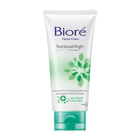 Biore Facial Foam Pure Smooth Bright 100g