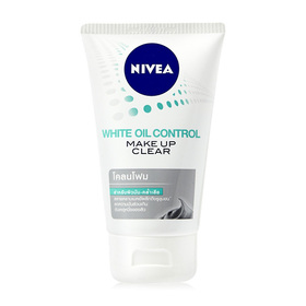 NIVEA White Oil Control Make Up Clear Mud Foam 100g