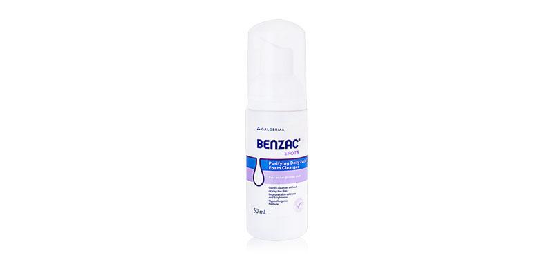 Benzac Spots Purifying Daily Facial Foam Cleanser 50ml